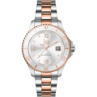 Ice Watch Steel Silver Rose gold small - 610387