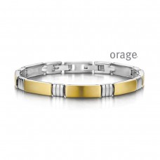armband Orage staal bicolor - 605129