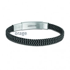 Orage armband heren staal - 608397