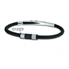 Orage armband heren staal - 608398