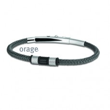 Orage armband heren staal - 608399