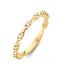 You & Me ring goud briljant - 609015