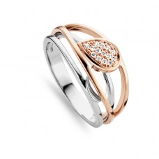 You & Me ring goud briljant - 607242