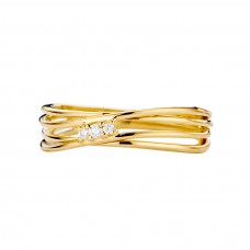 You & Me ring goud briljant - 608999