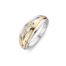 You & Me ring goud briljant - 609280