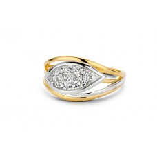 You & Me ring goud zirconia - 609281
