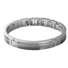 Fossil armband heren staal - 303472
