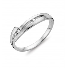 Cara ring wit goud zi - 607011
