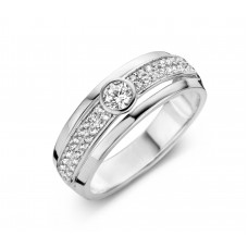 Silver Rose ring zilver zi - 606936