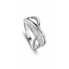 Silver Rose ring zilver zi - 606941