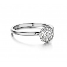 Silver Rose ring zilver zi - 606949