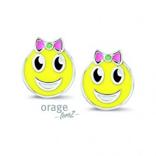oorbellen Orage Teenz smiley - 606076