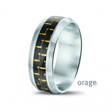 Orage ring heren staal - 306515