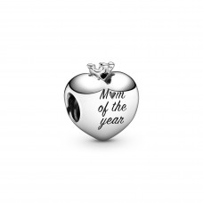 Pandora charm hartje Mom of the year - 611453