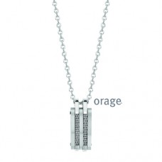 Orage collier heren staal - 608386