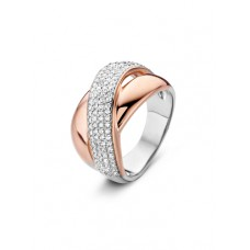 Silver Rose ring zilver  zi - 606845