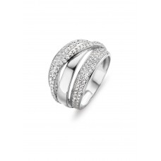 Silver Rose ring zilver zi - 606945